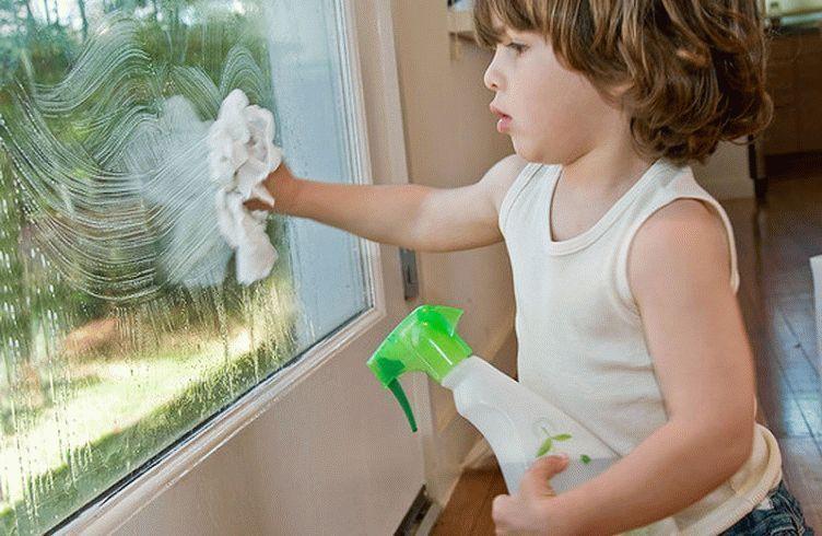 Как вымыть стекло в домашних условиях