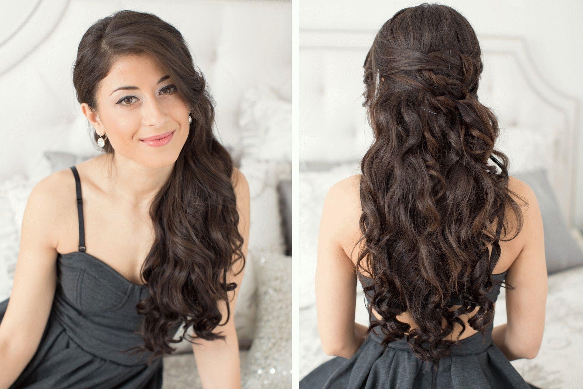 Красивые локоны своими руками для длинных волос