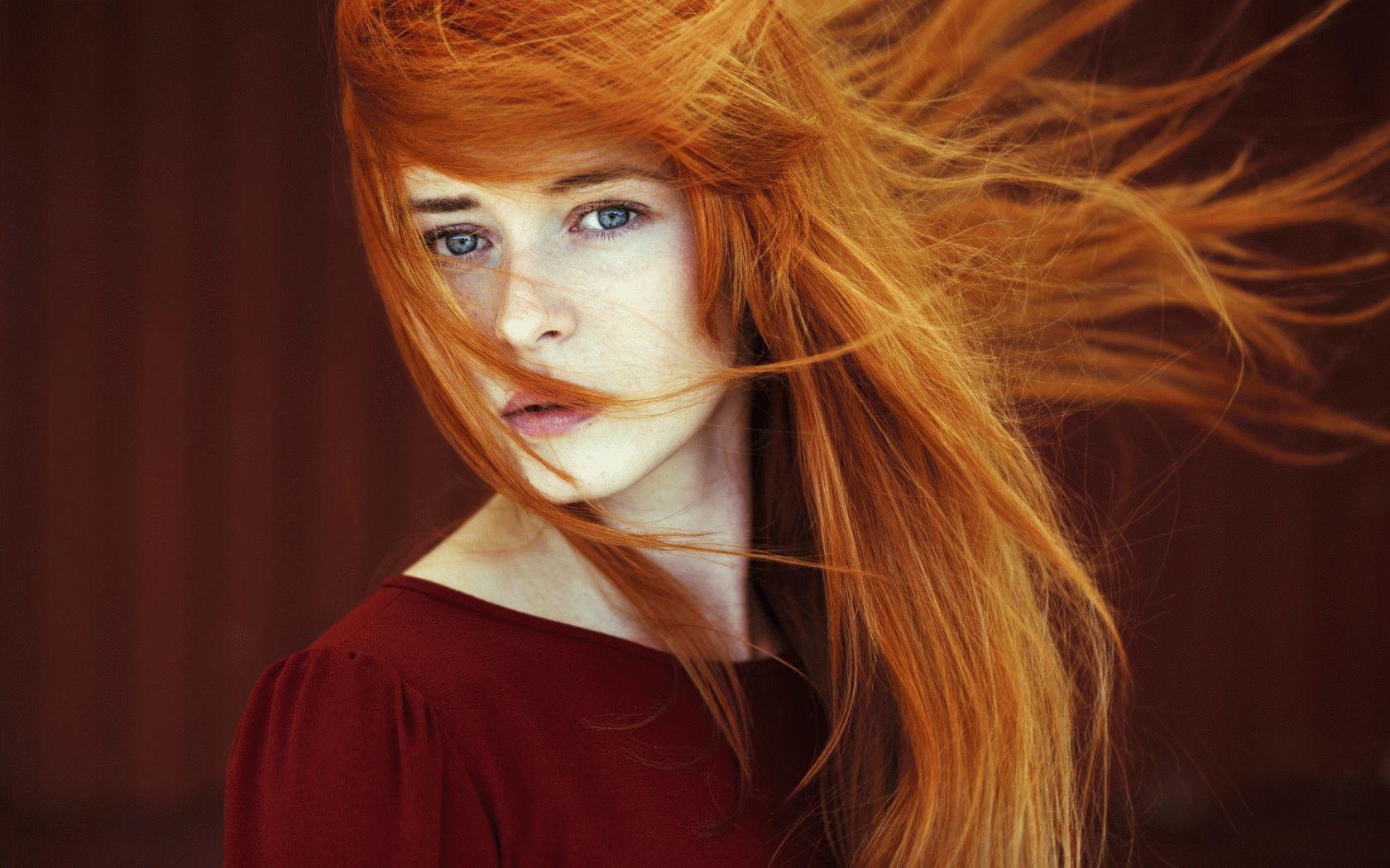 Фотографии рыжих красивых девушек 17 фотография