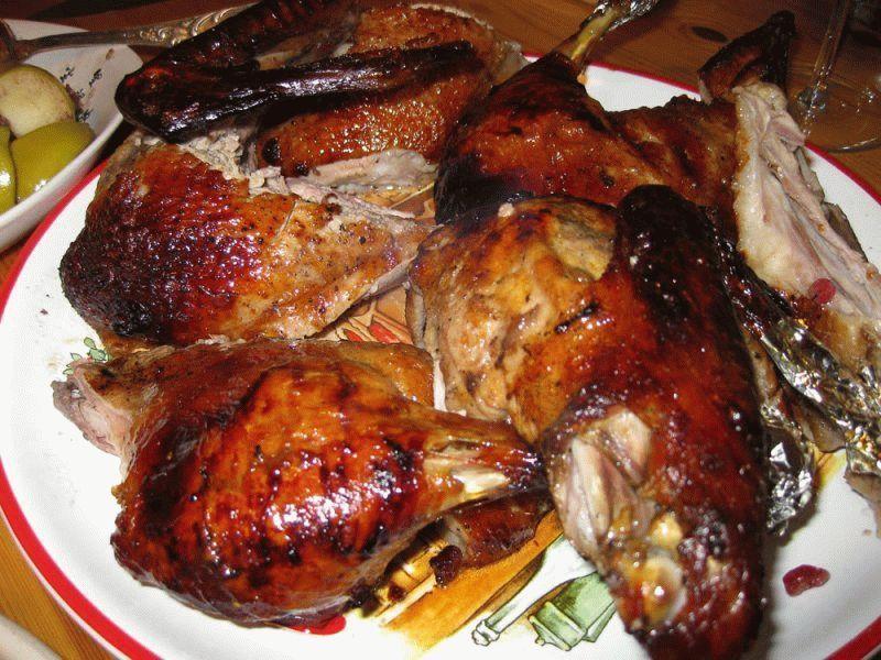 рецепты гуся в духовке чтобы мясо было мягким и сочным