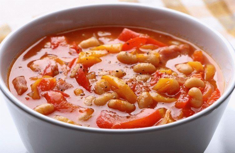 суп из фасоли консервированной рецепт с фото очень вкусный