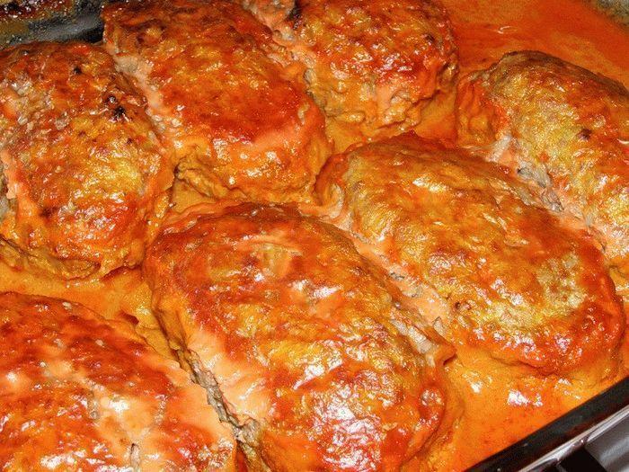 Ленивые голубцы без риса в духовке рецепт пошагово