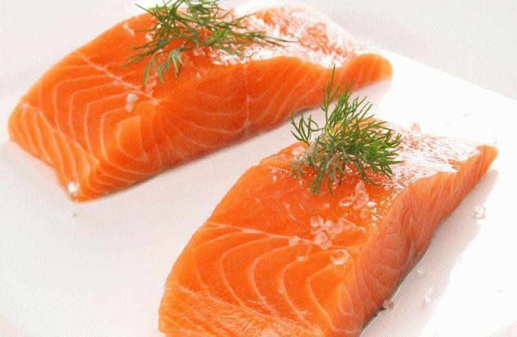 семга, форель, красная рыба