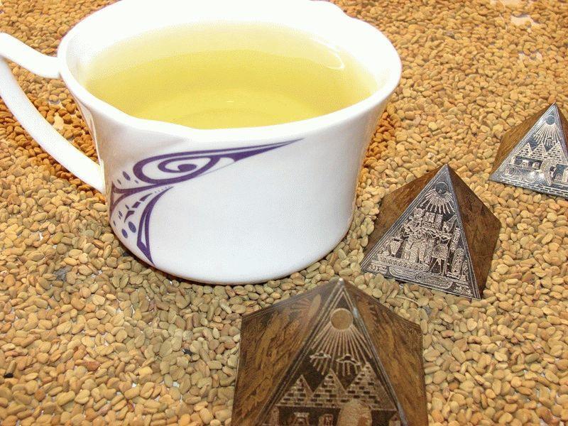желтый-чай