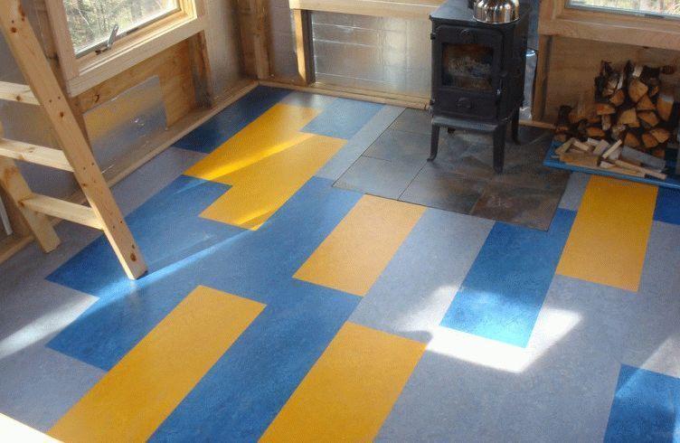 attractive-linoleum-flooring