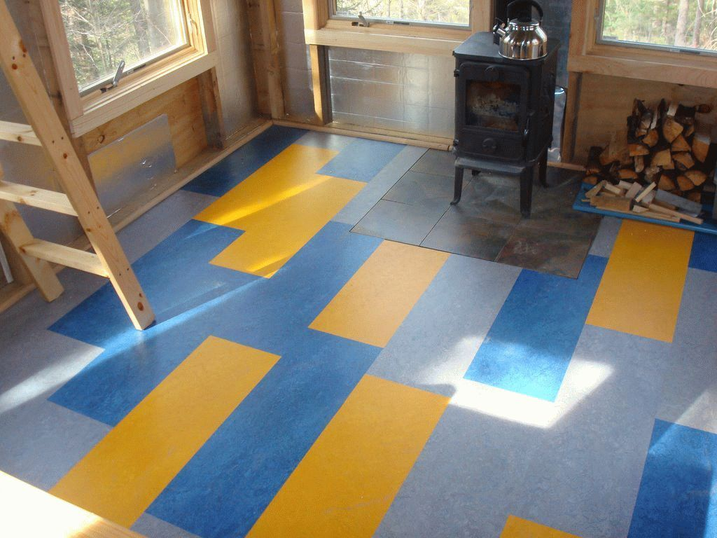attractive-linoleum-flooring