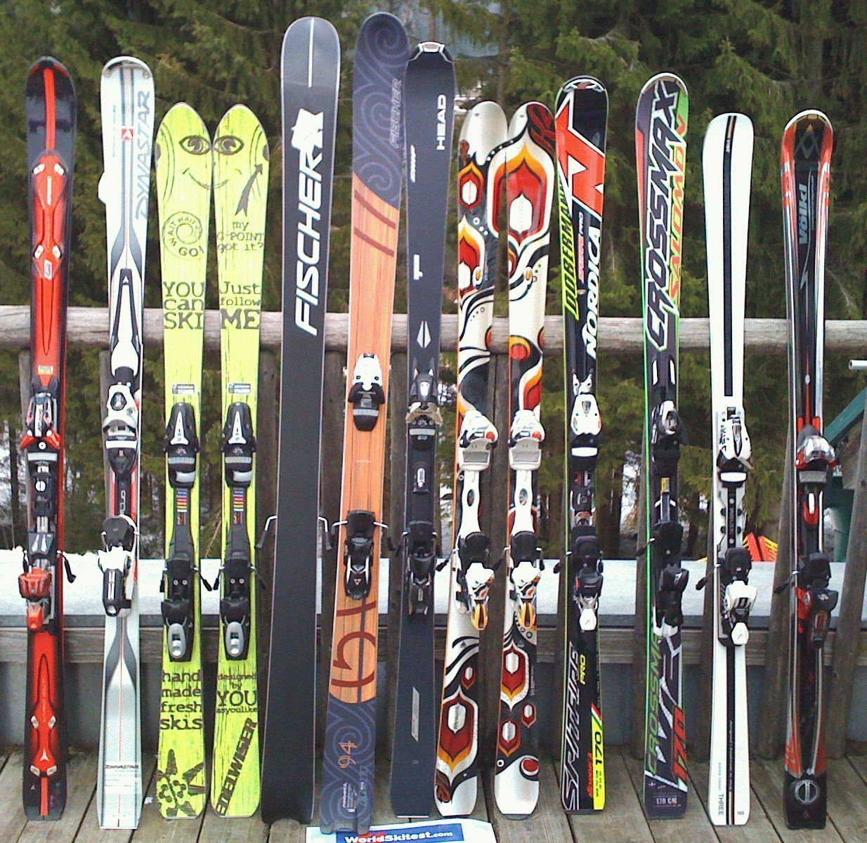 модели лыж
