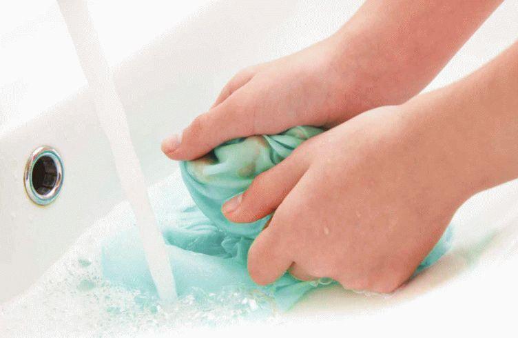 Как отстирать пятно в домашних условиях