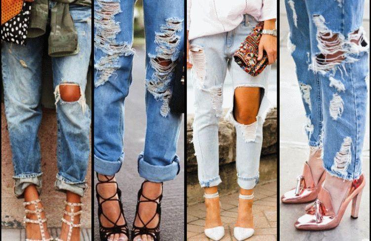 как сделать рваные джинсы своими руками пошаговая инструкция