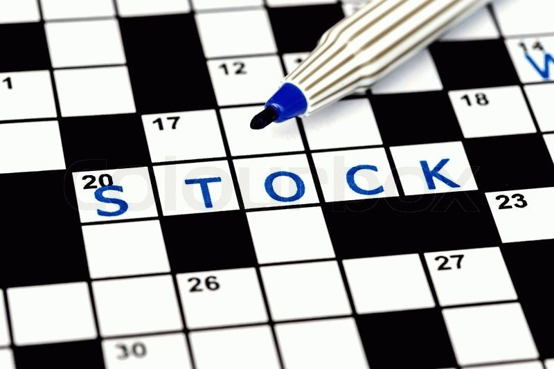 11880379-stock-in-solving-crossword-puzzle-close-up