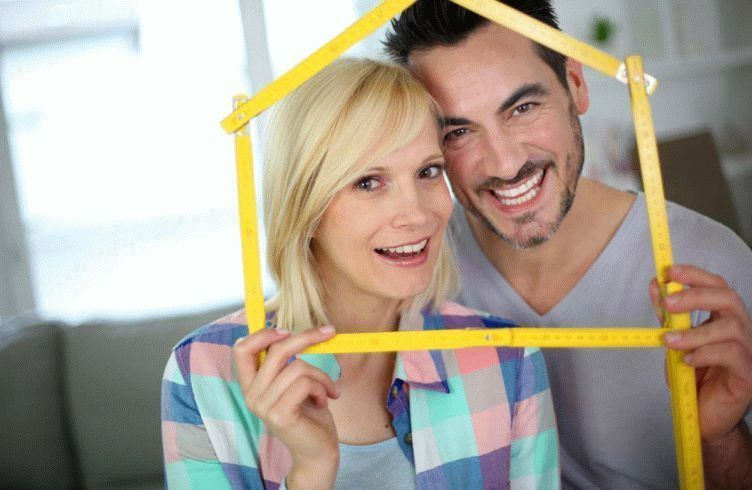 New happy property owners