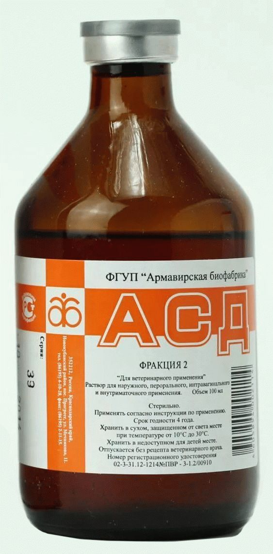 Асд 2 при лечении простатита